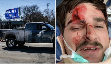 Man Nearly Murdered After Flying Trump Flag On His Truck