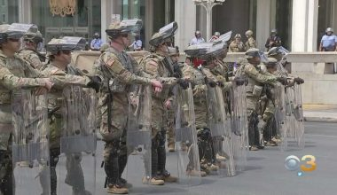 National Guard Deployed In Response To Civil Unrest, Looting, Rioting & Arson In Philadelphia